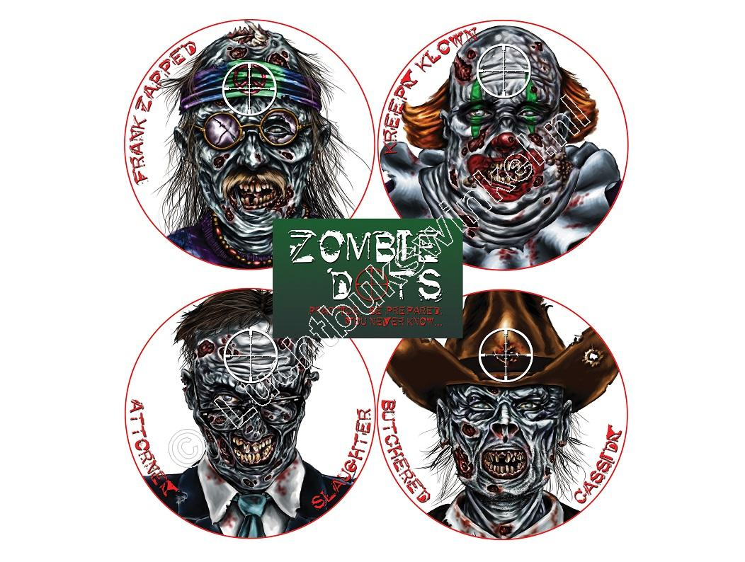 Lyman ZOMBIE TARGETS Zombie Variety Package