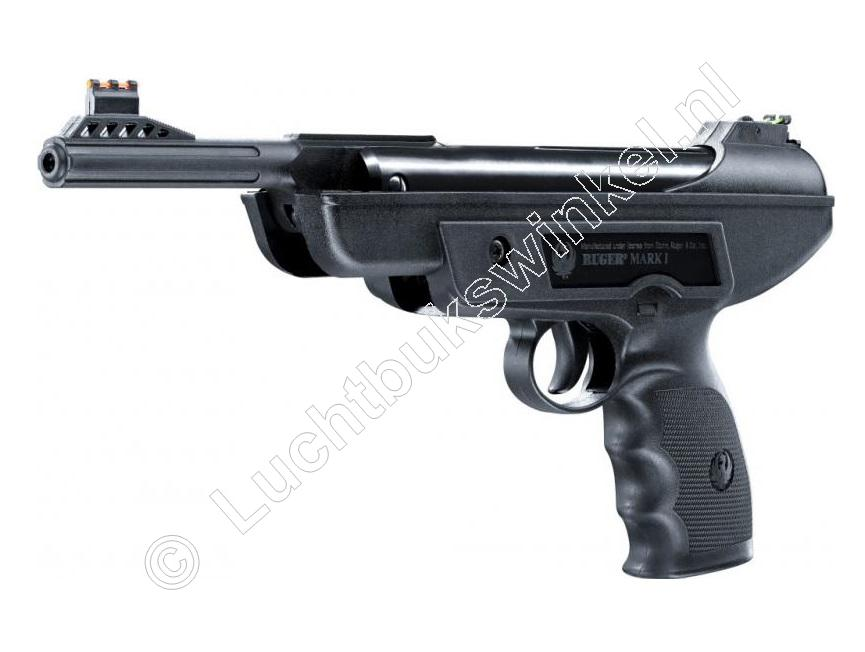 Ruger MARK I Luchtpistool 4.50mm, .177