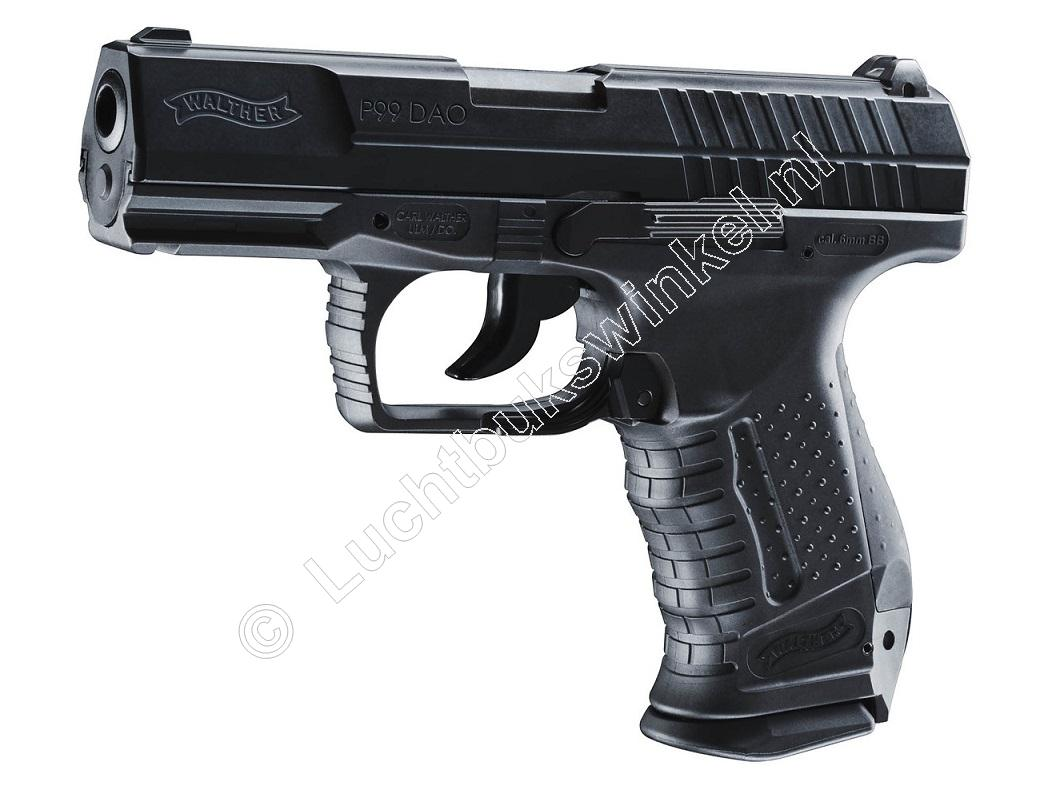 Walther P99 DAO Airsoft Pistool 6mm BB Co2