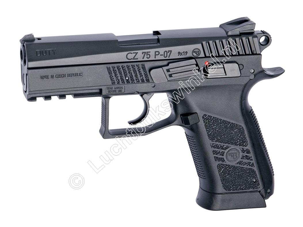 ASG CZ P-07 Duty Airsoft Pistool 6mm BB Co2