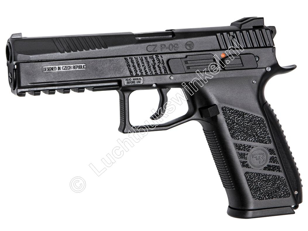 ASG CZ P-09 Airsoft Pistool 6mm BB Co2