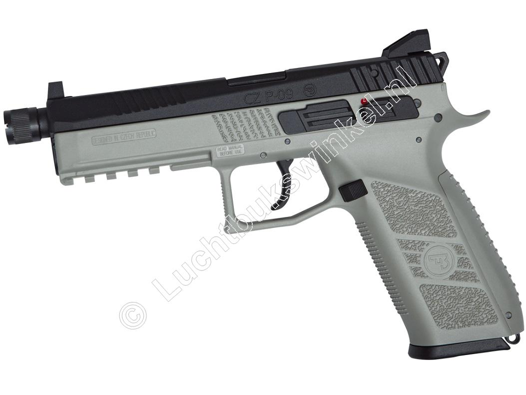 ASG CZ P-09 Special Forces Airsoft Pistool 6mm BB Co2