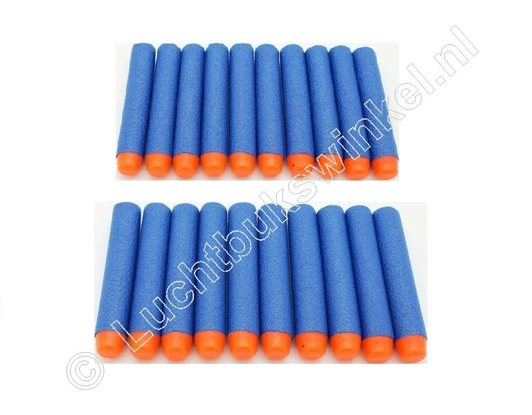 Black Series FOAM BULLETS, 20 Stuks