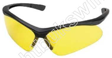 CHAMPION  -  Safety Shooting Glasses  -  SHOOTING GLASSES  -  Black Frame / Yellow Lens