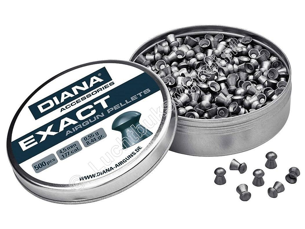 Diana Exact 4.50mm Airgun Pellets tin of 500