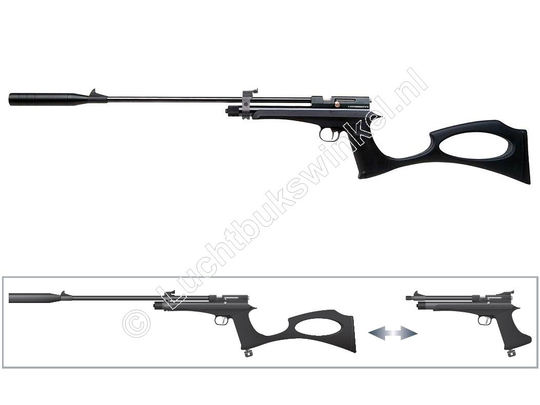 Diana CHASER RIFLE SET Luchtpistool Co2 4.50mm