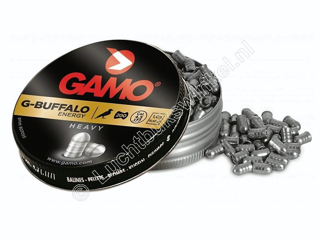 Gamo G-Buffalo Energy 4.50mm Airgun Pellets tin of 200