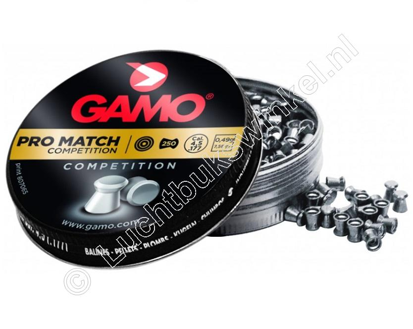 Gamo Pro Match 4.50mm Airgun Pellets tin of 500