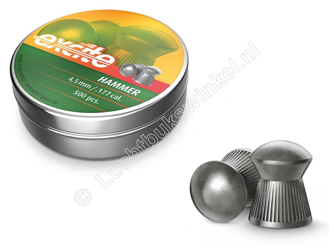 Excite Hammer 4.50mm Airgun Pellets tin of 500