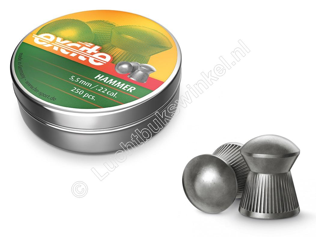 Excite Hammer 5.50mm Airgun Pellets tin of 250
