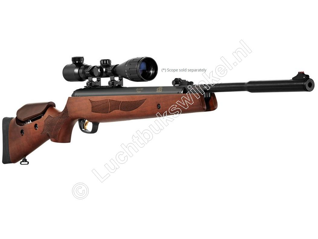 Hatsan 135QE CARNIVORE Vortex Big Bore Luchtgeweer 7.62mm