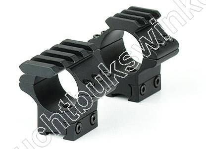 Hawke TACTICAL MATCH MOUNT Airgun Montage voor 30mm Richtkijker MEDIUM 2 delig