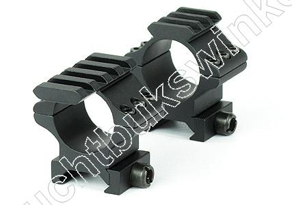Hawke TACTICAL MATCH MOUNT Weaver Montage voor 30mm Richtkijker MEDIUM 2 delig