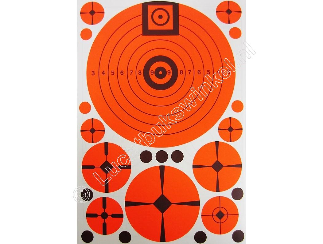 Lyman Targ-Dots E-ZEE Aim Match Assortment