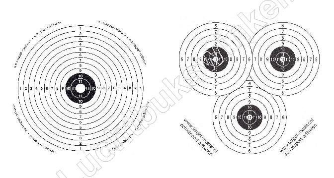 <br />PAPER TARGETS for AIRGUNS