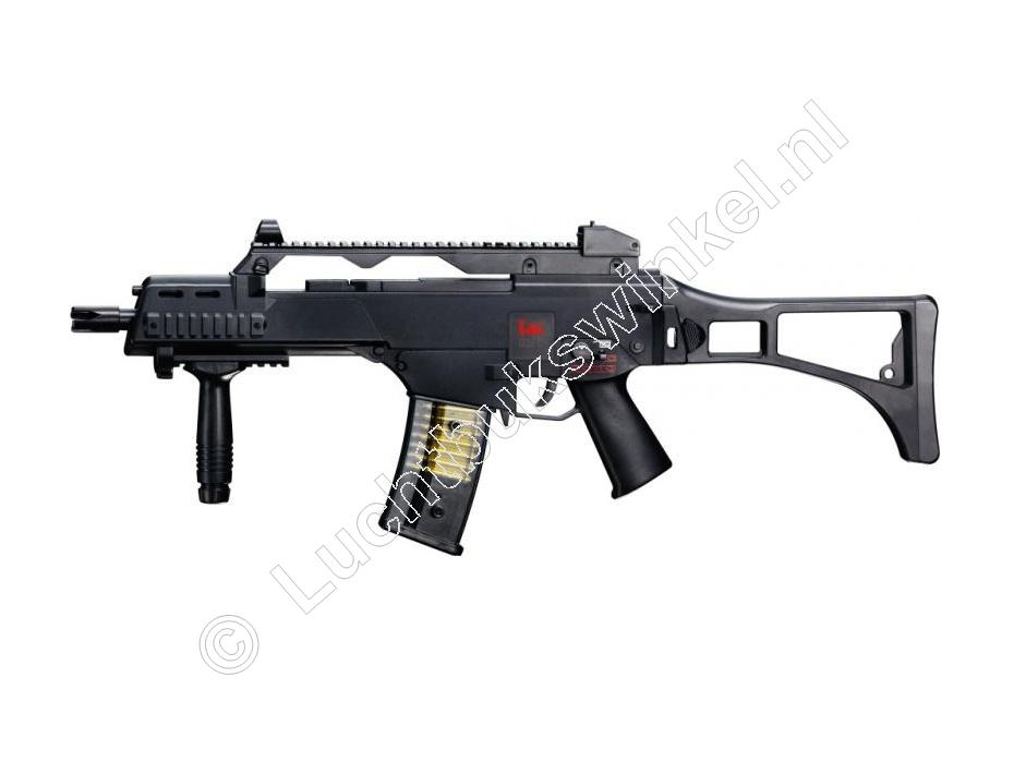 Heckler & Koch G36C Replica Speelgoed Airsoft Pistool 6mm BB, 0.08 Joule