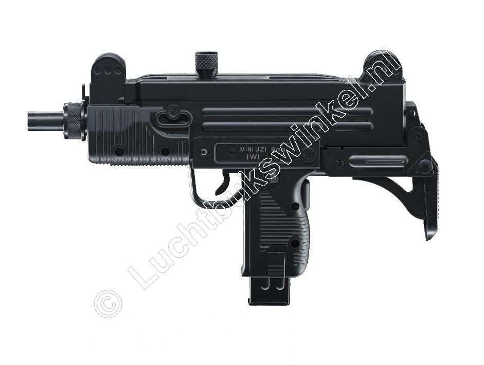 IWI MINI UZI Replica Speelgoed Airsoft Pistool 6mm BB, 0.08 Joule